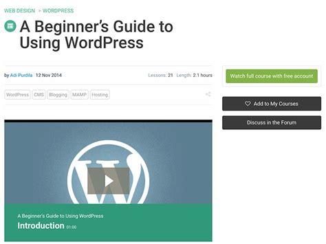 wordpress tutorial users 15 simple relevant wordpress tutorials for new users