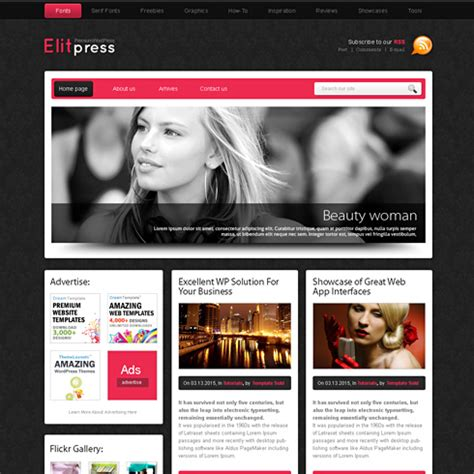 pinkpanther html template web blog corporate css