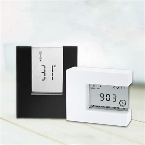 Water Powered Digital Clock With Temperature Function Jam Temperatur aliexpress buy free shipping miniso digital clock led alarm clocks temperature function