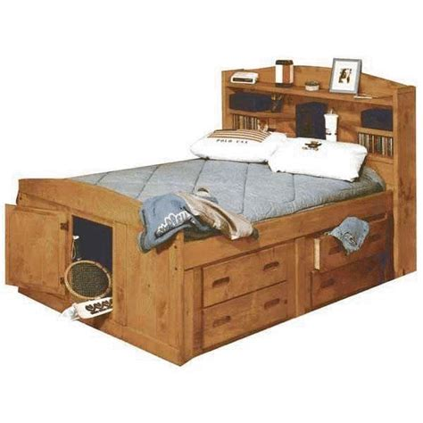 captains bed full size bunkhouse full size captains bed twood fullcapt