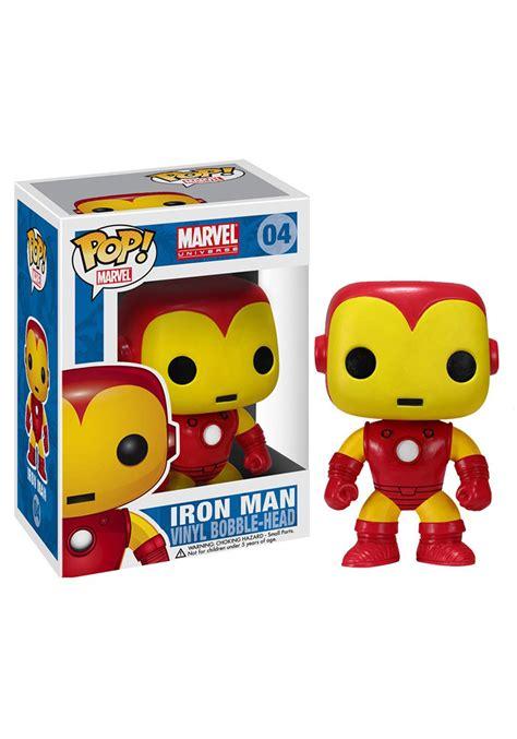 to pop pop marvel iron bobble