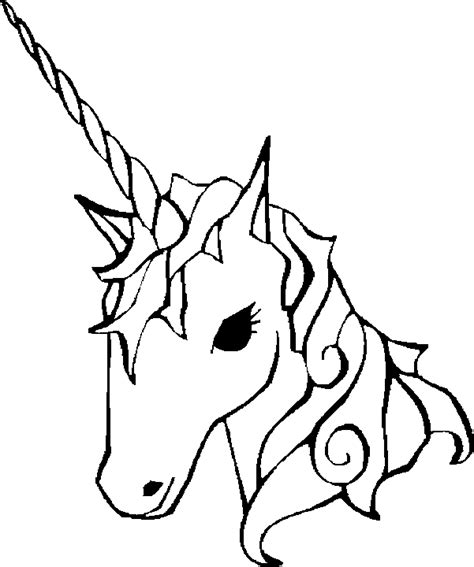 printable unicorn drawing easy coloring pages of unicorns to print unicorn
