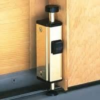 andersen patio door auxiliary security lock andersen auxiliary security lock foot latch white 1997301