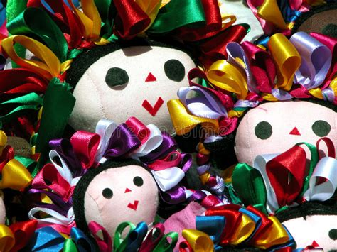 traditional mexican rag dolls traditional mexican dolls stock photo image of doll