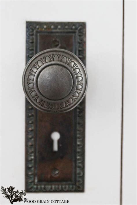 Door Knobs Woodies How To Install A Vintage Doorknob On A New Door