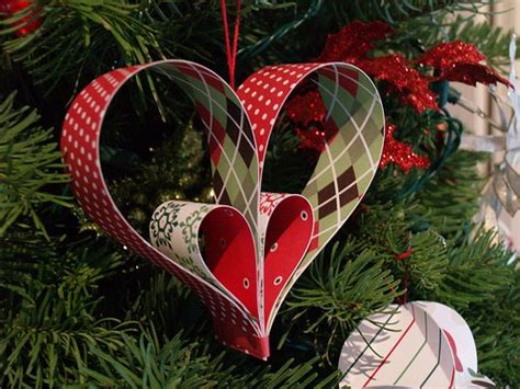 paper heart ornament tutorial reese dixon