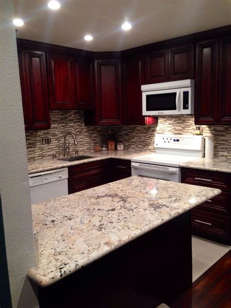 cabinet and stone expo backsplash granite and cabinets all from granite expo yelp