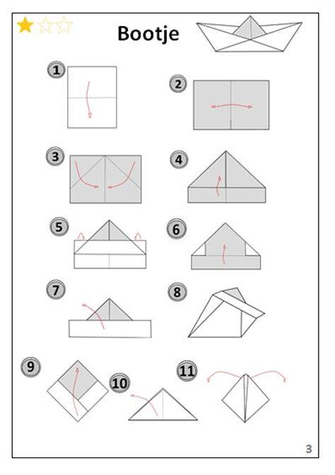filmpje bootje vouwen bootje origami vouwen jouwweb be
