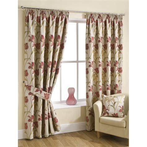 chintz curtains uk belfield furnishings lily chintz pencilpleat readymade