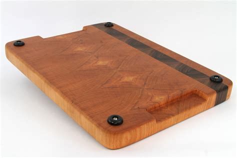 Handcrafted Wooden Cutting Boards - stunning handcrafted wood cutting board end grain walnut