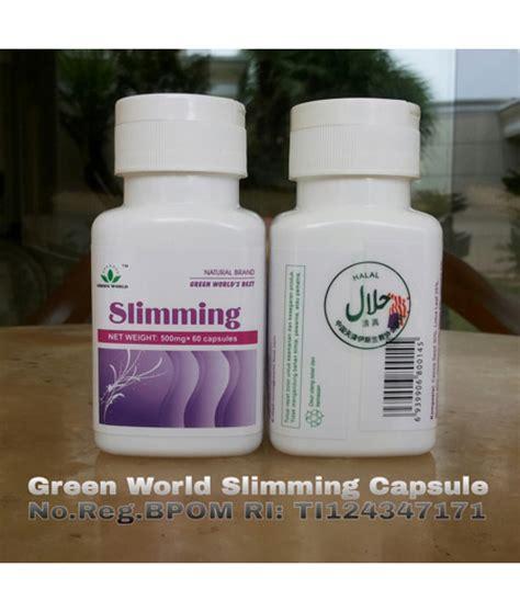 Slimming Capsule Asli Isi 60 Kapsul obat penurun berat badan secara alami slimming capsule
