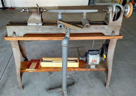 rockwell woodworking delta rockwell model 1460 wood lathe vintage machines