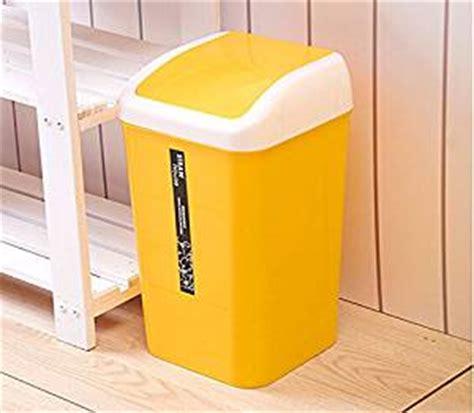yellow bathroom bin amazon com creative kitchen trash can trash can sitting