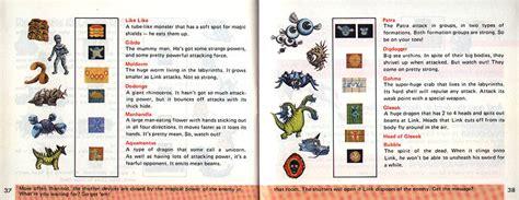 legend of zelda manual map the legend of zelda english instruction manual scans