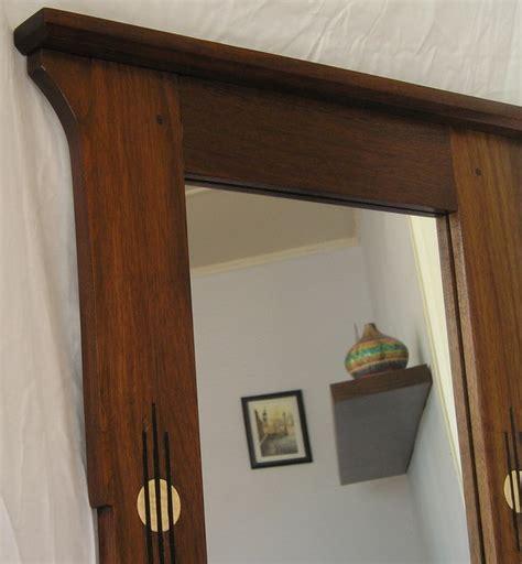 craftsman mirror walnut craftsman mirror frame by brianl lumberjocks