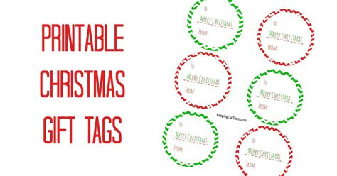 printable christmas gift tags 2009 free printable christmas gift tags keeping life sane