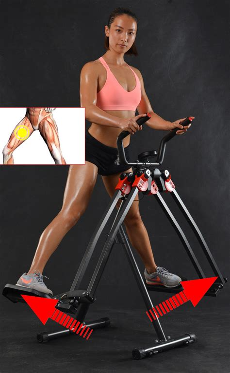 premium leg exercise machine magic trainer slimming master stepper air walker machine