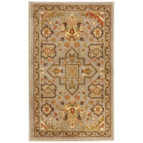 home accents rug collection home decorators collection gianna gray 1 ft 10 in x 3 ft