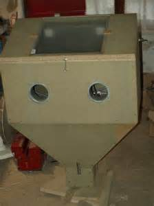 fabrication d une nouvelle cabine de sablage