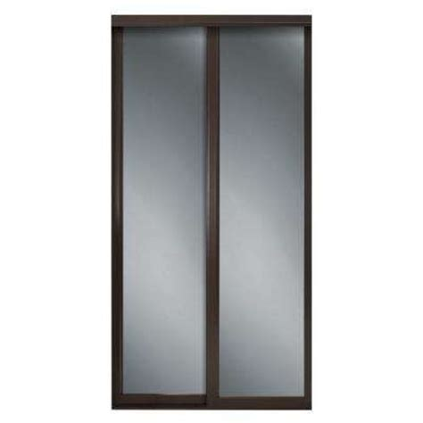 Sliding Closet Mirror Doors by Sliding Doors Interior Closet Doors The Home Depot