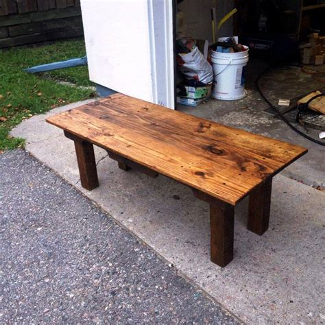wooden pallet coffee table 101 pallet ideas