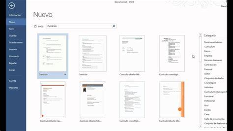 como hacer un curriculum vitae en microsoft word 2010 como hacer un curriculum vitae en word