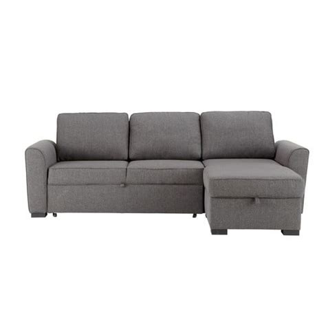 Sofa Bed Montreal by 3 4 Seater Fabric Corner Sofa Bed In Grey Montr 233 Al