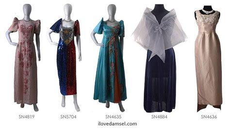 Cheap Wedding Gowns For Sale by Filipiniana Gowns For Sale Best Gowns And Dresses Ideas