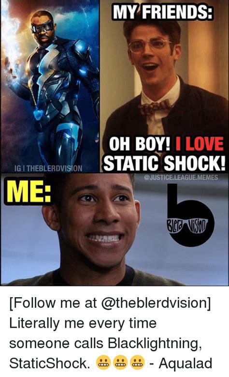 shock meme 25 best static shock memes faints memes shocking memes
