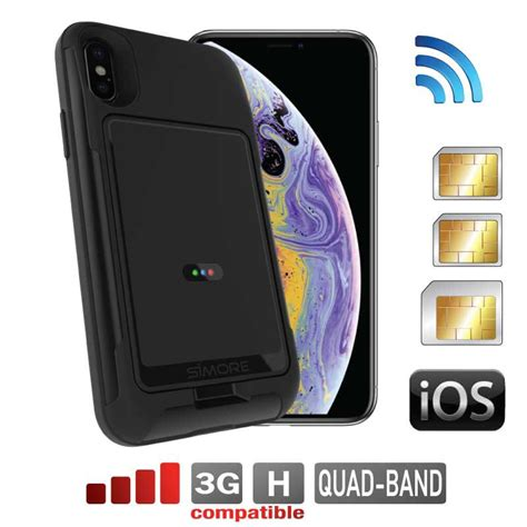 pack e box with protective e iphone xs dual sim card adapter active at