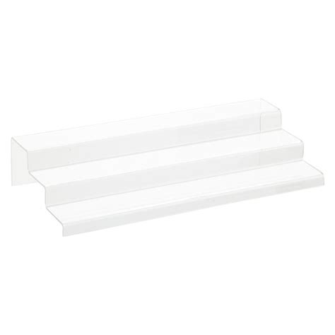 3 tier cabinet organizer 3 tier acrylic cabinet organizer the container store