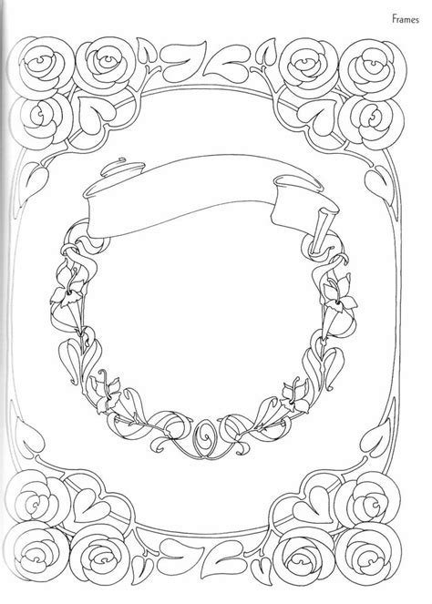 blank coloring pages for adults 135 best bos coloring blank frames images on