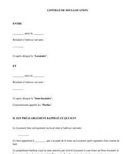 contrat de sous location mod 232 le exemple word et pdf