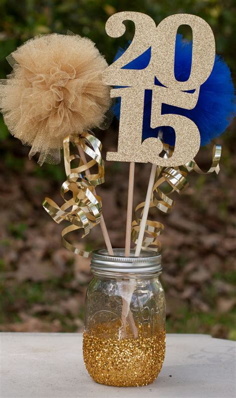 graduation centerpieces with pictures 25 diy graduation decoration ideas hative