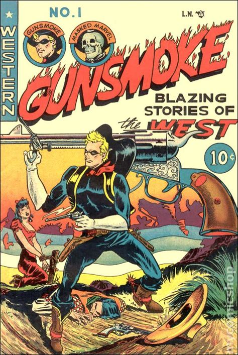 Westerns Graphic Novels Comics Books Gunsmoke 1949 Western Comics Comic Books