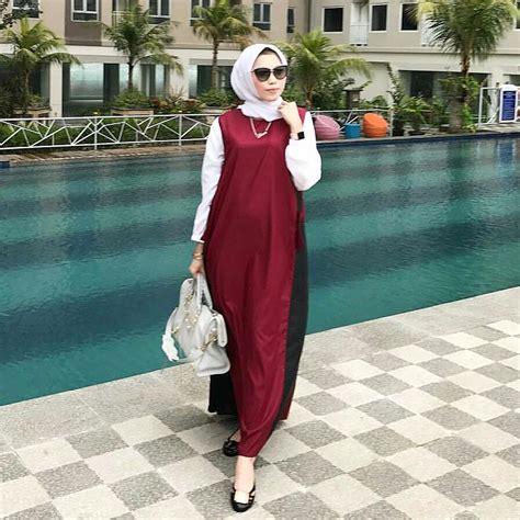 Gamis Remaja Simple 17 Koleksi Fashion Baju Remaja 2018 Gaya Masa Kini