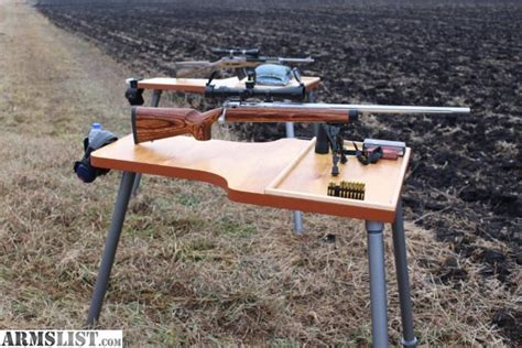 rifle shooting bench armslist for sale the best portable shooting bench table