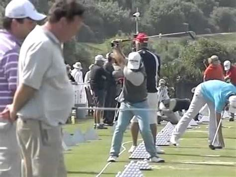 ryan moore golf swing analysis ryan moore golf swing slow motion face on down the