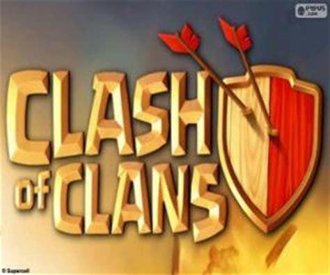 Puzzle Clash Of Clanz puzzles de logo de clash of clans rompecabezas para imprimir