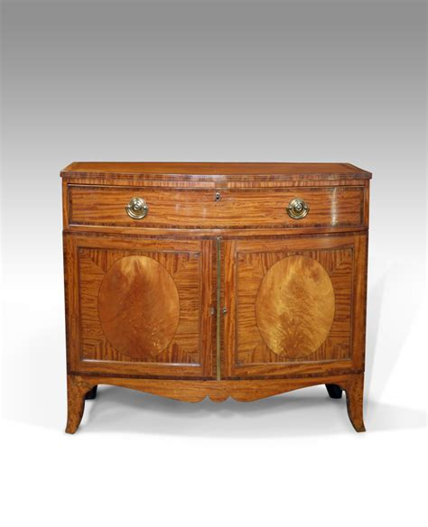 Chiffonier Dresser by Antique Satinwood Cabinet Side Cabinet Bowfront Cabinet