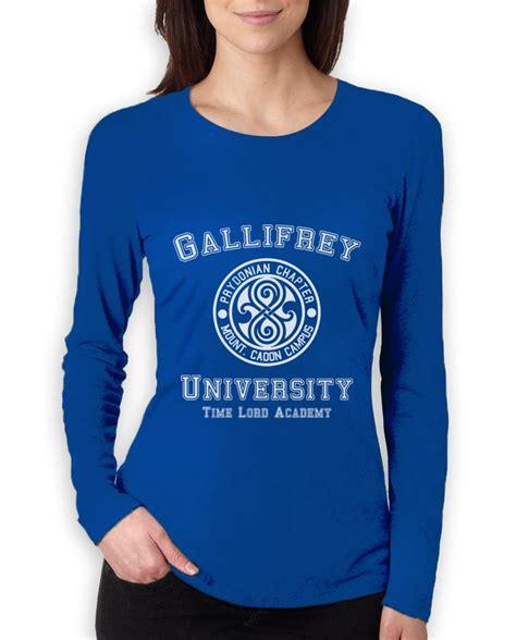 Gallifrey Shirt Doctor Who Dr T Shirt 1 gallifrey university sleeve t shirt call the doctor dr costume who ebay
