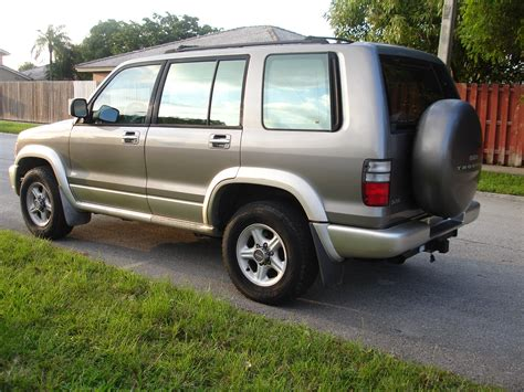 i just got a 1995 isuzu trooper and it wont start i think it may have something to do with anti what vehicle do you use to get you to the trails mtb