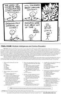 printable multiple intelligence questionnaire printable multiple intelligence test for primary students