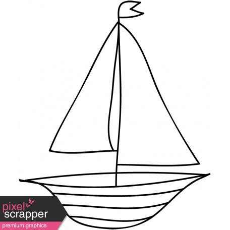 boat template boat doodle template 001 graphic by janet pixel
