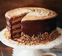 hazelnut latte cake recipe bbc good food