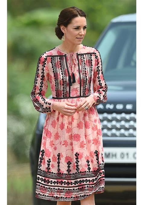 Get Look Kate Middletons Topshop Tunic Dress by Kate Middleton Looked Amazing In A Topshop Dress