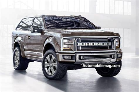2017 ford bronco black 2017 ford bronco is coming rumors engine diesel