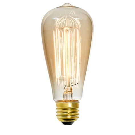shop litex vintage 60 watt for indoor dimmable amber st18