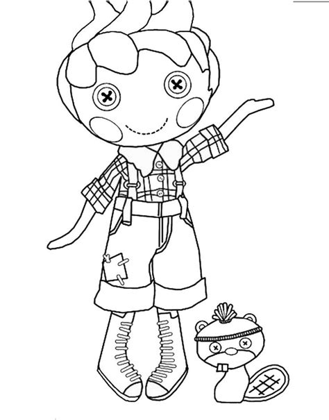 lalaloopsy boy coloring pages to print lalaloopsy