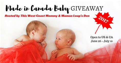 Baby Sweepstakes Canada - made in canada baby 2017 giveaway 3000 in prizes and cash for mom kids and baby